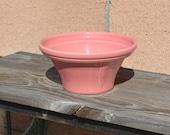 Fiesta Hostess Serving Bowl - Retired Color Rose P86 - Homer Laughlin Fiestaware