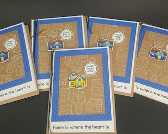 Housiversary  - 5 Card Bundle - house aniversary cards