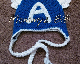cd21b78047b89 Captain America Inspired Beanie and Outfits