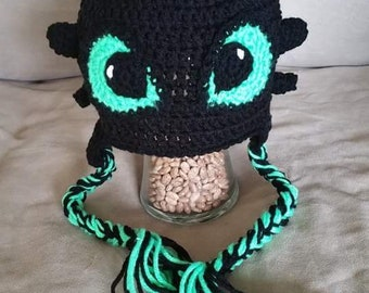 Toothless Inspired Beanie