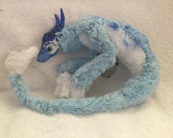 Hippocampus plush art doll