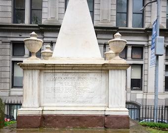 Alexander & Eliza Hamilton Gravesites, New York, NY