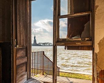 Open Door, Ellis Island Immigrant Hospital