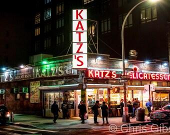 Katz's Deli, New York, NY