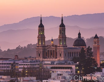 University of San Francisco at Sunset