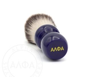 Alpha Classic Blue Shaving Brush