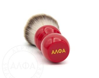 Alpha Classic Red Shaving Brush
