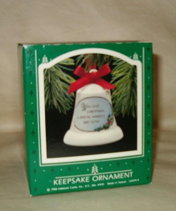 image 0 - Hallmark Keepsake Mother And Dad Fine Porcelain Bell Christmas Etsy