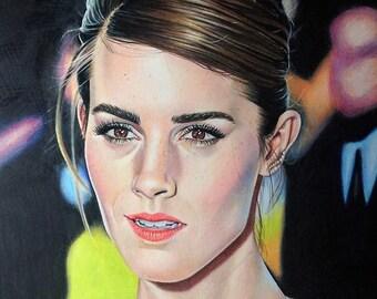 Emma Watson - Original Drawing