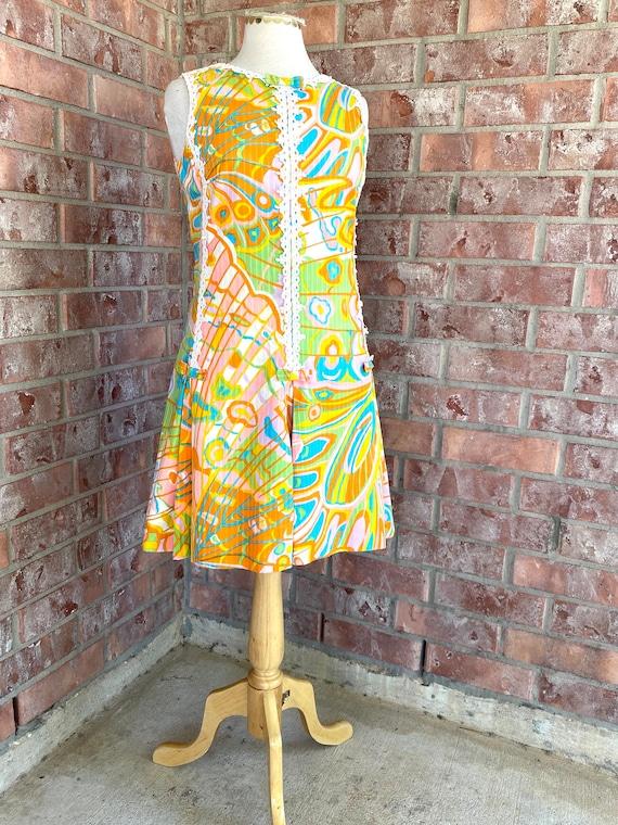 Rare 1960s Lilly Pulitzer Cotton Shift Dress