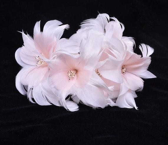 Vintage Style Flower Millinery Hat//Decoration Floral Trim
