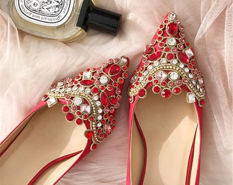 2 pcs Crystal Rhinestone Shoe Clips Applique Diamante Appliques Sash Belt DIY Iron Glue on Shoes Bridal Wedding Bridesmaids Dress Gown