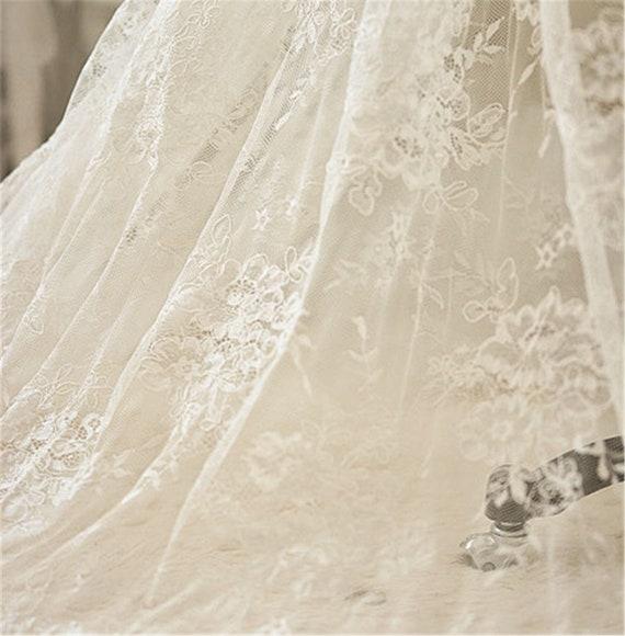 88847e69da0da Fleur cordée en tissu dentelle broderie cordée Fleur matériaux tissus  passementerie artisanat bricolage mariage mariée robe ...