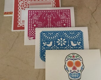 Fiesta Personalized Notecards