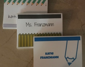 Teacher Personalized Notecards