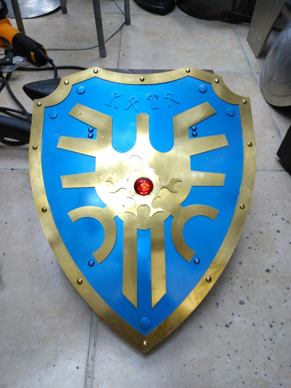 Dragon Quest Roto Shield Cosplay Hero Weapon Armor Etsy A suit of armor fashioned from forged bronze plates. etsy