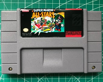 Super Mario All Stars for Super Nintendo SNES