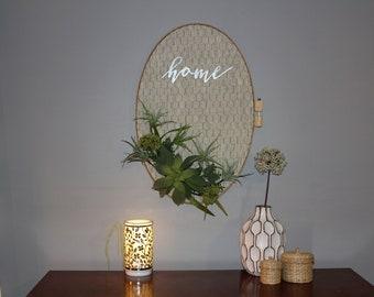 Oval Wreath