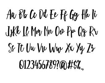 Hand Written Font Script Font Svg Hand Written Alphabets Alphabet Font Alphabet Letters Svg Png Dxf Font File For Cricricut Download 14618 Free Commercial Use Script Fonts