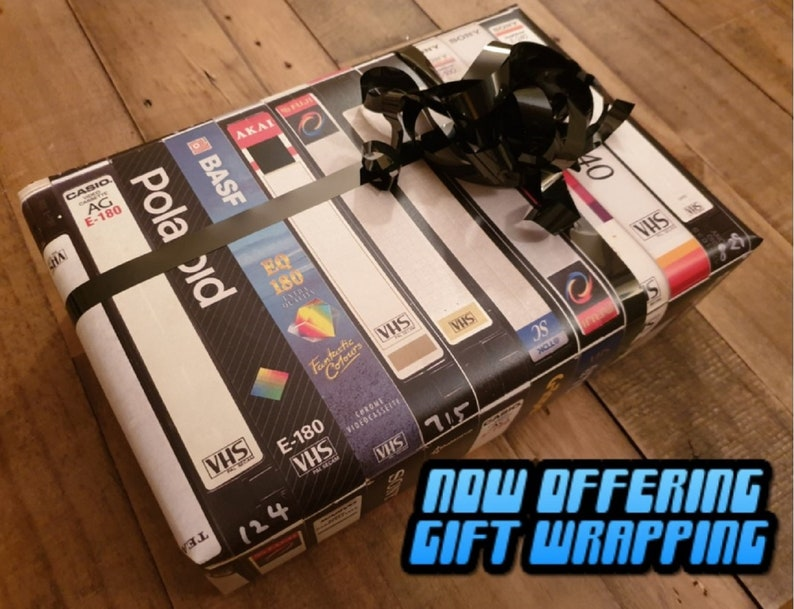 Retro VHS Lamp,Halloween,Top Quality Amazing Gift  For Any Movie Fan,Man Cave Ideas or Pick your own Movie