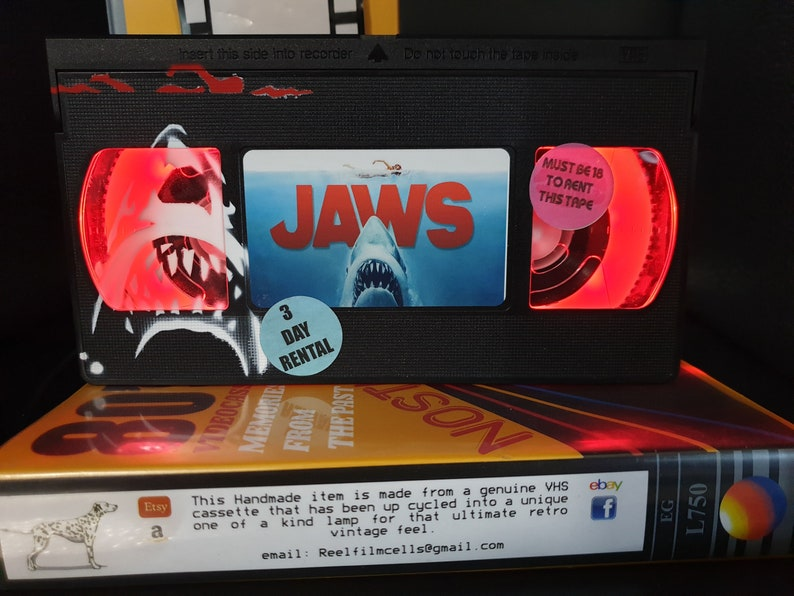 Retro VHS Lamp,Buffy the Vampire Slayer!Amazing Gift Idea For Any Movie Fan,Man cave  or Birthday gifts
