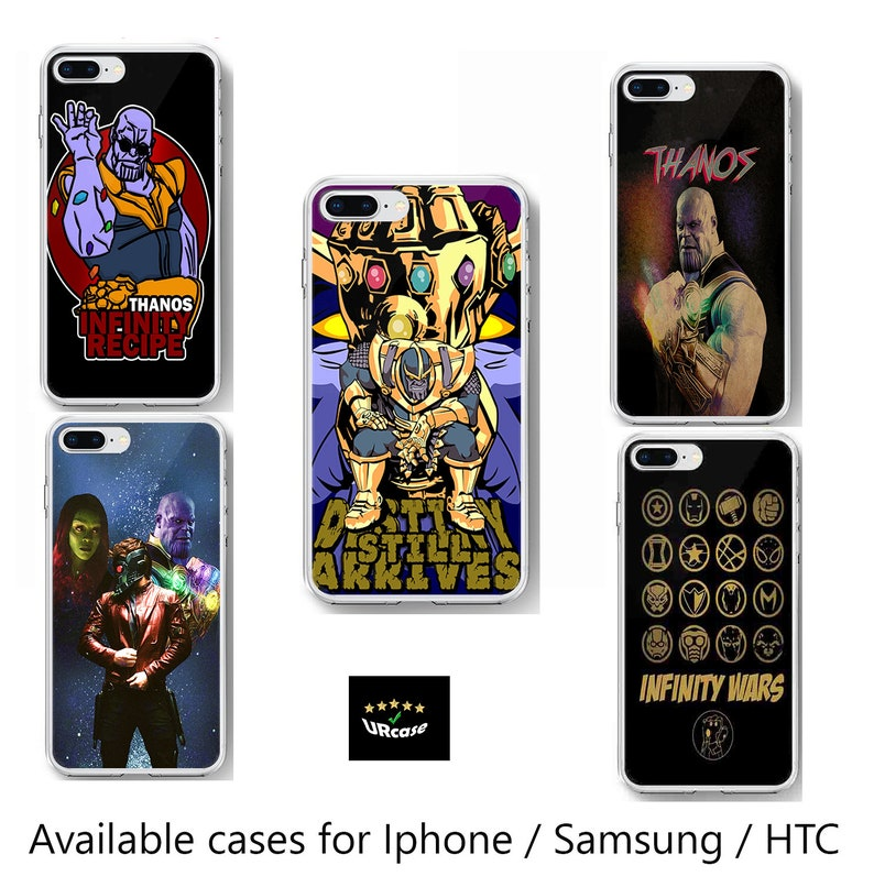 pretty nice ad23b 549df Thanos Avengers Inspired phone case infinity war clip on custom case  infinity logo phone mobile case cover thanos quotes for Iphone Samsung
