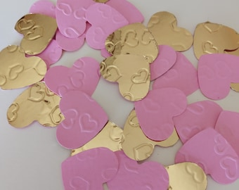 heart confetti1gold pink wedding heart confettibirthday party decorvalentine decorbridal showertable decor scattersbaby shower