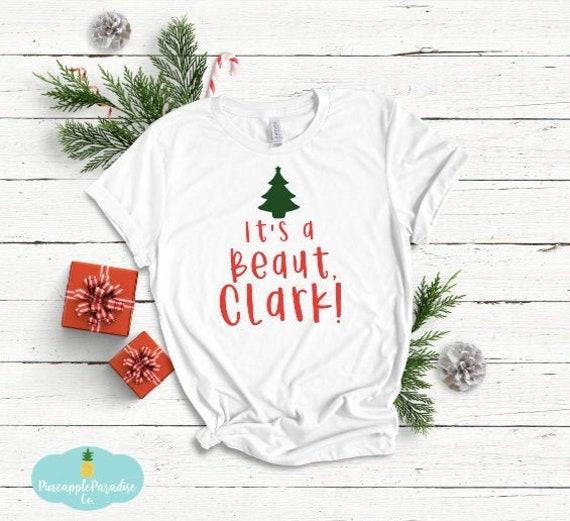Its A Beaut Clark Christmas Tree Unisex Crew Sweatshirt