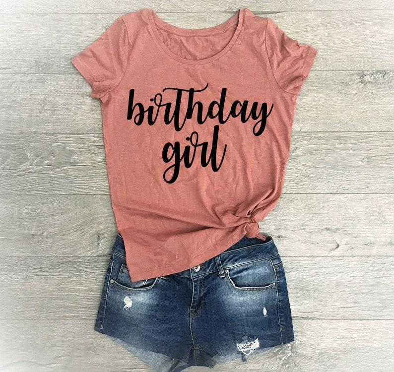 Birthday Girl Shirt Shirts Women