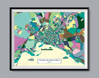 Mallorca print   Etsy on roquetas de mar spain map, canary islands map, mediterranean sea map, marbella spain map, emporda spain map, tuscany spain map, seville spain map, paris spain map, tenerife spain map, norway spain map, canarias island map, chile spain map, menorca spain map, genoa spain map, ibiza spain map, costa del azahar spain map, baleares spain map, canarias spain map, egypt spain map, guipuzcoa spain map,
