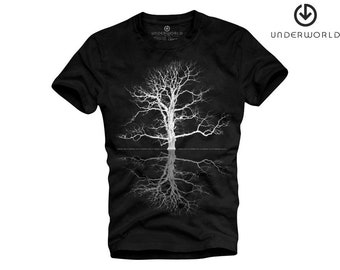 T-shirt Underworld Tree