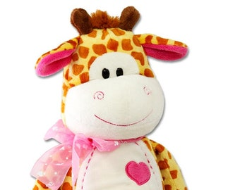 Stuffed Plush Giraffe For Babies Toddles Kids Adults Birthday Get Well Comfort Toy