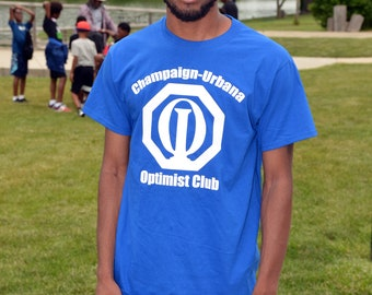 Optimist Club T-shirt - Your club name on the top - Pick your shirt color - Small to 6XL