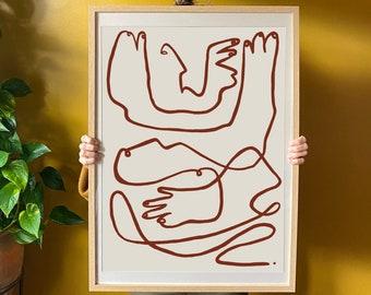 Jario - illustration - line - minimalism -flow