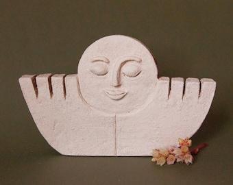Hugs - esculpture -ceramics - alaiart -decoration -handmade