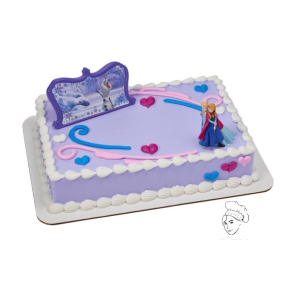 Frozen Cake Topper Birthday Disney