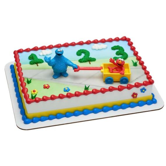 Sesame Street Cake Topper Birthday