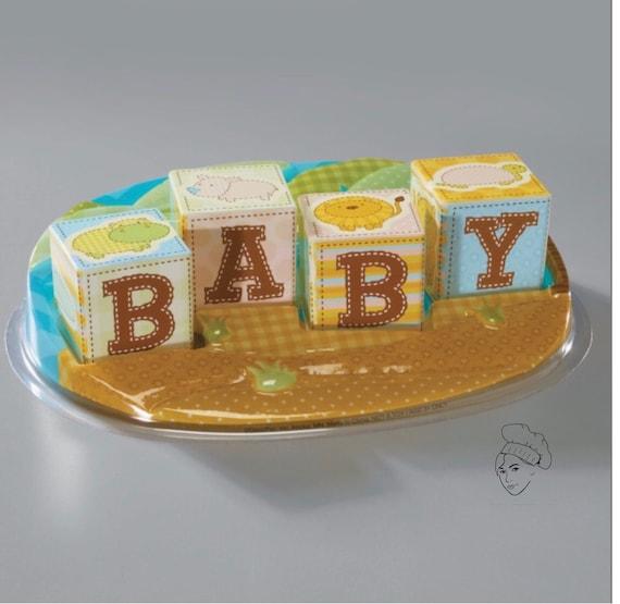 Safari Baby Shower Cake Topper Baby Shower Baby Shower Cake Etsy