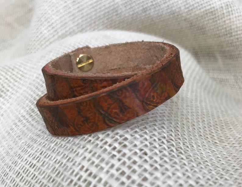 Paisley Double Wrap Bracelet