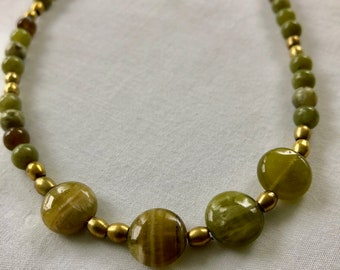 Earth Green Necklace