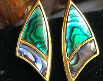 Butler Signed Celestial Clip-on Earrings