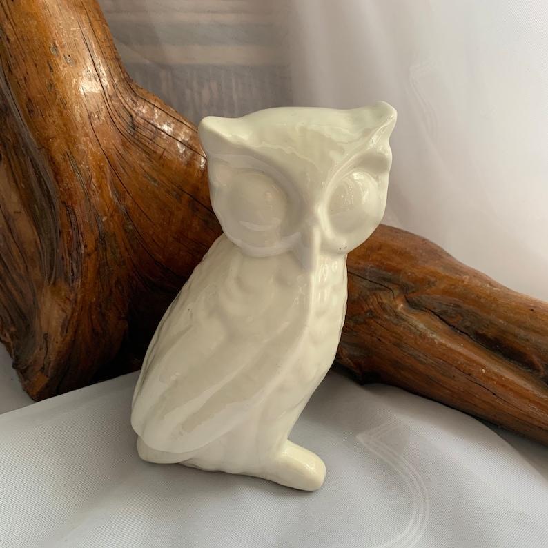 Roy CraftMontreal Canada Vintage Mcm Ceramic Pottery Owl Figurine