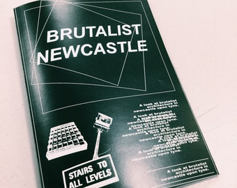 Brutalist Newcastle zine