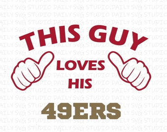 San Francisco 49ers Svg Etsy