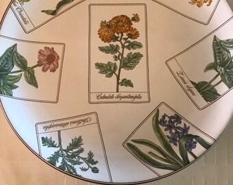 Tiffany Botanicals Salad Dessert Plates Dishes