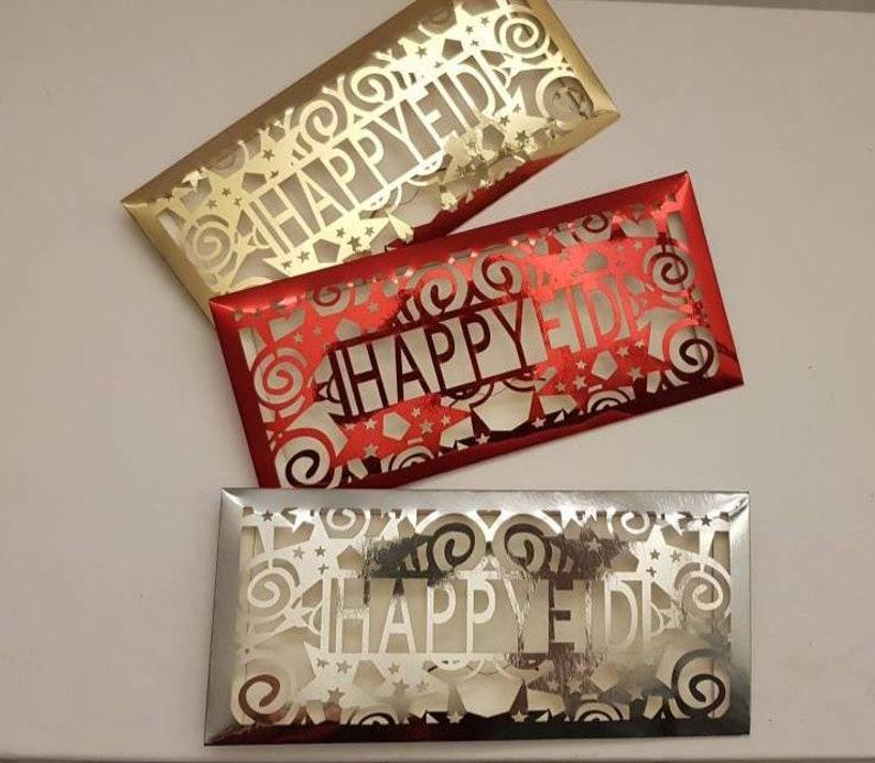 Eid money envelops gift box islamic gift box Eid Mubarak. image 0