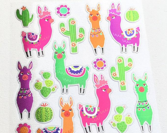 Alpaca stickers