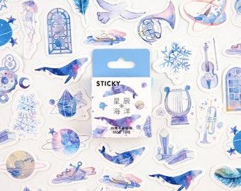 Walvissen stickers