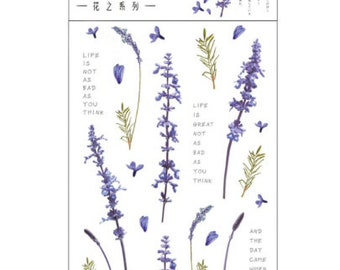 Lavendel stickers