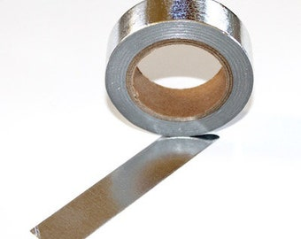 Zilver washi tape